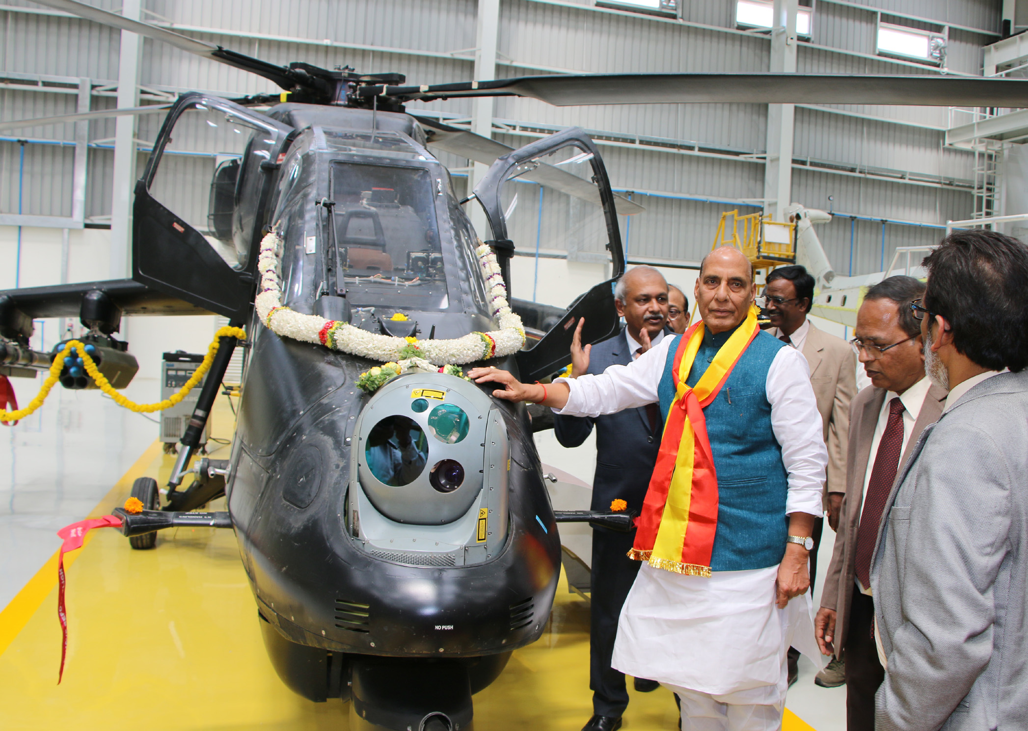 Light Combat Helicopter Production Hangar of HAL inaugurated by Rajnath  Singh - Sectors - Manufacturing Today India