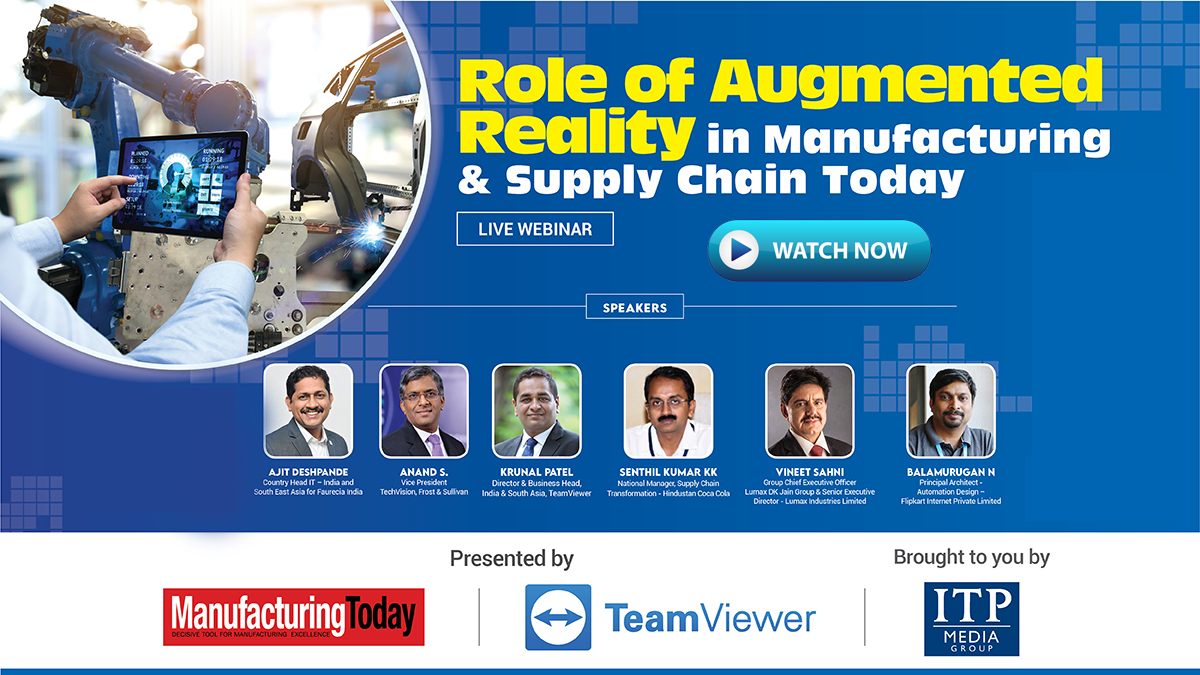 How AR & VR Transforming the manufacturing sector