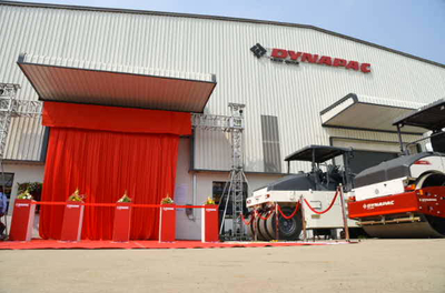 Dynapac inaugurates its new manufacturing facility in Pune