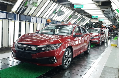 Honda Cars India commences production of  10th gen Honda Civic