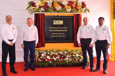 JCB makes Gujarat its home for its sixth factory in the country