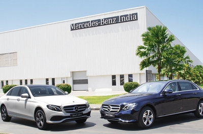 Mercedes-Benz launches the first ever 'Made in India' BS 6 long wheel base E-Class