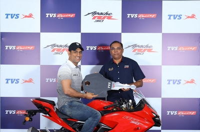 TVS Motor Company launches TVS Apache RR 310 with  'Race Tuned (RT) Slipper Clutch' technology