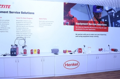 Henkel launches it's very first LOCTITE Equipment Centre