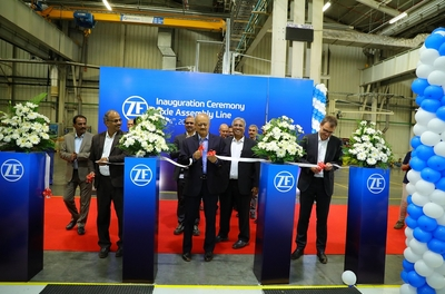 ZF inaugurates off-highway assembly line at its Coimbatore facility