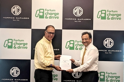 MG partners with Fortum to set up 50 KW DC fast-charging EV stations ahead of EZS launch
