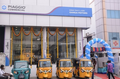 Piaggio Commercial inaugurates dealership in Chennai