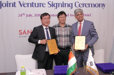 Sandhar Technologies forays into connected car devices; partners with Hanshin Corporation