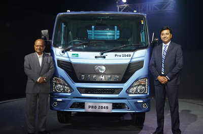 Eicher Trucks and Buses unveils India's first BS-VI CV range expands light duty trucks portfolio