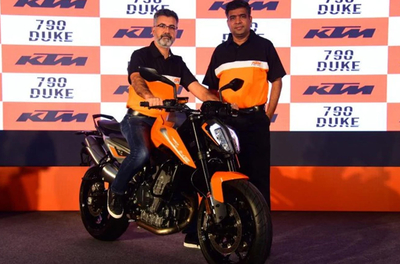 KTM 790 Duke launched at Rs 8.64 lakh