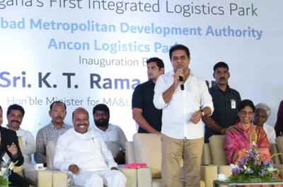 HMDA ANCON Logistics Park opened in Hyderabad