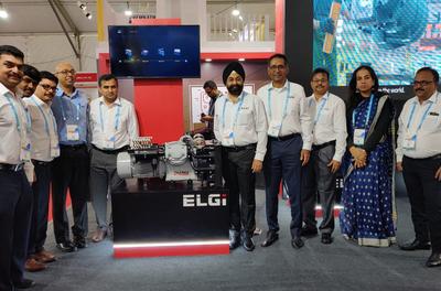 Elgi Equipments launches oil free piston compressors at IREE
