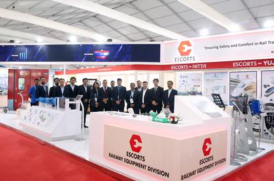 Escorts showcases indigineously made products at IREE 2019