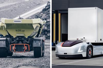 Volvo sets up new business unit for autonomous trucks