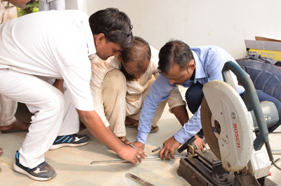Jindal Stainless organises fabrication workshop for Varanasi Central Jail inmates