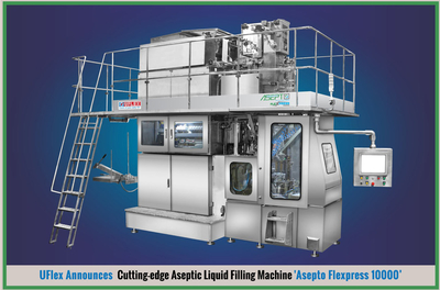 Uflex launches a liquid filling machine and packaging solution