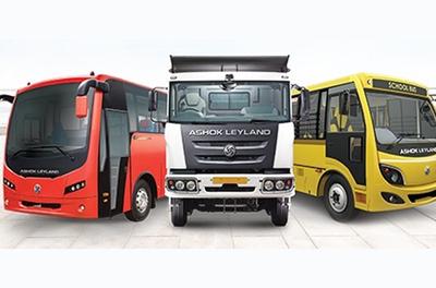 Ashok Leyland showcases BS-VI complaint trucks & buses