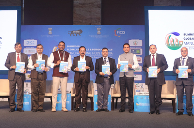 PCPIR Rejuvenation Study launched at Summit on Global Chemicals & Petrochemicals Manufacturing Hubs in India 2019