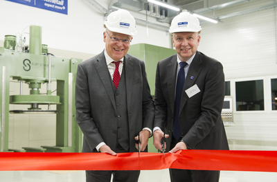 Chemetall inaugurates new lab and office building in Germany
