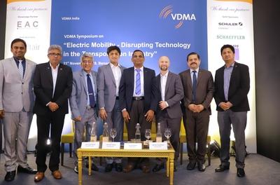 VDMA organises symposium in two cities focusing on EVs
