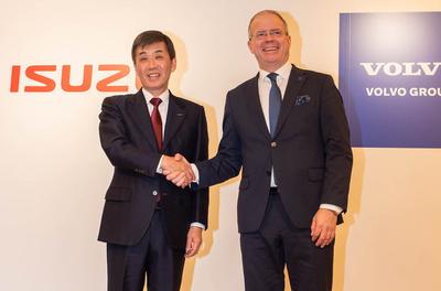 Volvo Group and Isuzu Motors join hands