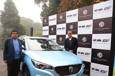 MG Motor India rolls out ZS EV