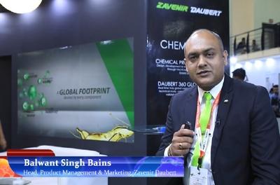 Balwant Singh Bains from Zavenir Daubert talks to Manufacturing Today at IMTEX
