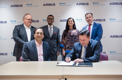 Airbus signs a contract with Indian startup