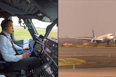 Airbus demonstrates first fully automatic vision-based take-off