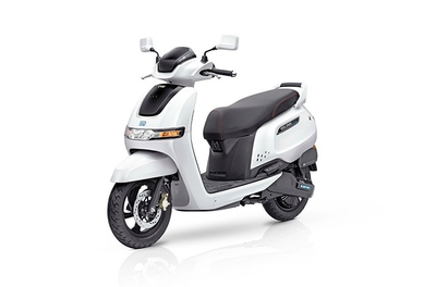 TVS launches an electric scooter – iQube