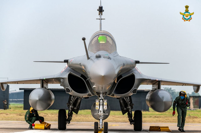 IAF inducts Rafale aircrafts in its fleet