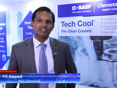 Manufacturing Today with VS Anand, MD, Chemetall at IMTEX