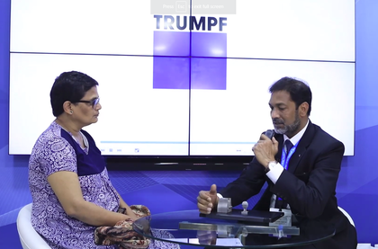 Mohammed Hidayath, Director, Sales, Trumpf India