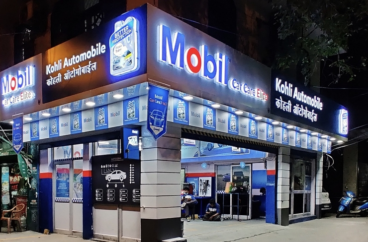 ExxonMobil launches flagship PV and 2W service centres