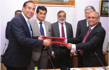 The MoUs were signed by Chandrajit Banerjee, director general, CII with Sunil Mathur and Ichiro Iino, MD, Hitachi India in the presence of Amitabh Kant,     secretary, DIPP and Takeshi Yagi, Ambassador of Japan.