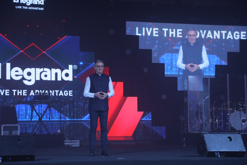Automation, IoT, Jean Charles Thuard, Legrand India, Manufacturing, Sameer Saxena, IT in manufacturing, News
