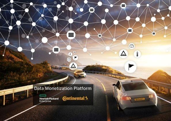 Blockchain, Continental, Data monetisation, Digital, Helmut Matschi, Hewlett Packard Enterprise, HPE, Phil Davis, Platform, Products, Technology, News
