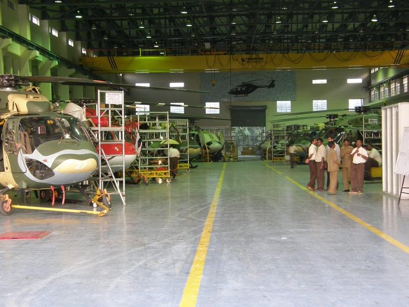 Aerodrome, Bangalore, CPWD, GVS Bhaskar, HAL, Helicopters, Tumkur, Defence Manufacturing, Aerospace, Heavy engineering, News