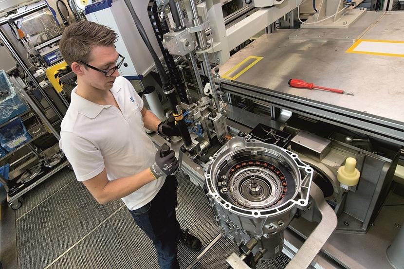 Automatic transmission, Germany, Saarbrücken, Wolf-Henning Scheider, ZF