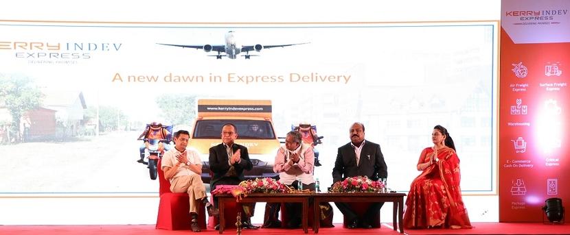 Kerry Indev Logistics, Dr S Xavier Britto, Logistics, Kerry Indev Express, Mumbai