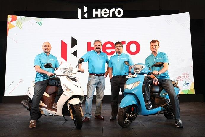 Hero MotoCorp, Scooter, Maestro Edge, Pleasure+, Fuel injection, I3s, Dr. Markus Braunsperger, Malo Le Masson, Sanjay Bhan, 125cc, 110cc