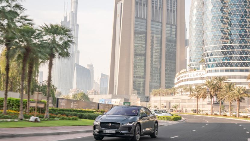 Jaguar Land Rover, Self-driving prototype Jaguar I-PACE, Destination Zero mission, Future of zero emissions