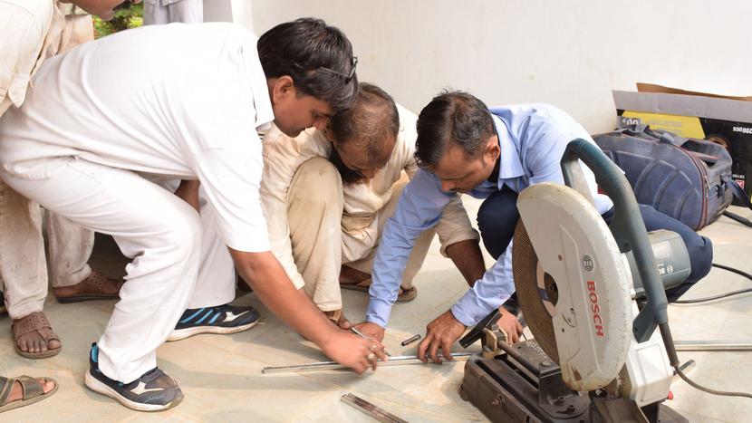 Jindal Stainless, Varanasi Smart City, Kashi Vishwanath temple, Ambreesh Gaur, Skill India, Fabrication and welding of stainless steel