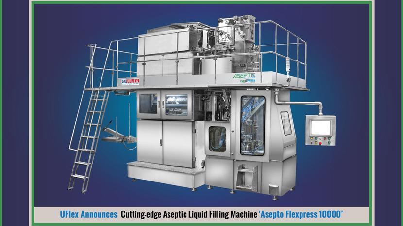 Uflex, GulFood Manufacturing 2019, Asepto Eye, Ashwani Sharma, Ashok Chaturvedi, Asepto Flexpress, Asepto Flexpress 10000 Machine