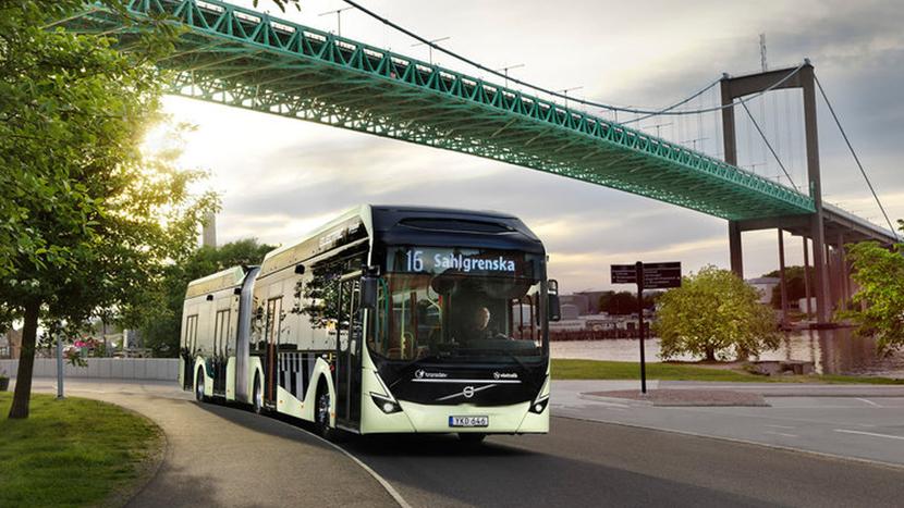 Volvo Buses, Transdev, Electromobility, Gunnar Schön, Håkan Agnevall, City of Gothenburg, OppCharge, Euro VI buses