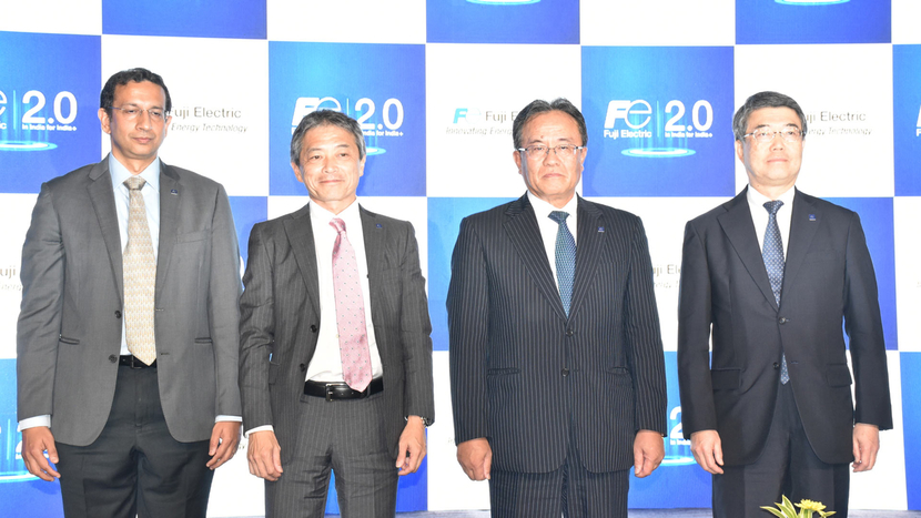 Fuji Electric, India 2.0 plan, Consul Neowatt Power Solutions, Kenzo Sugai, In India for India+, Energy Storage, EV Charging, MW scale solar power plants, Smart city