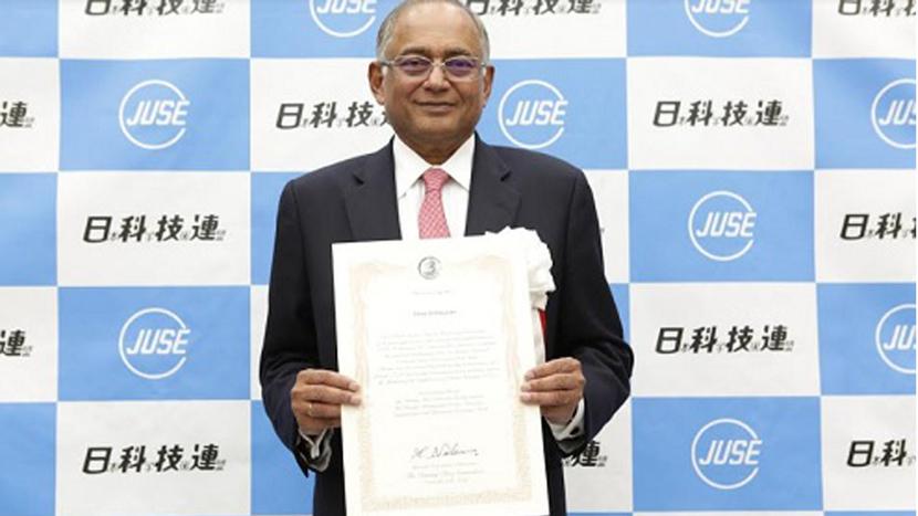Venu Srinivasan, TVS Motor Company, Sundaram Clayton, Distinguished Service Award For Dissemination and Promotion Overseas, Total Quality Management, The Deming Prize