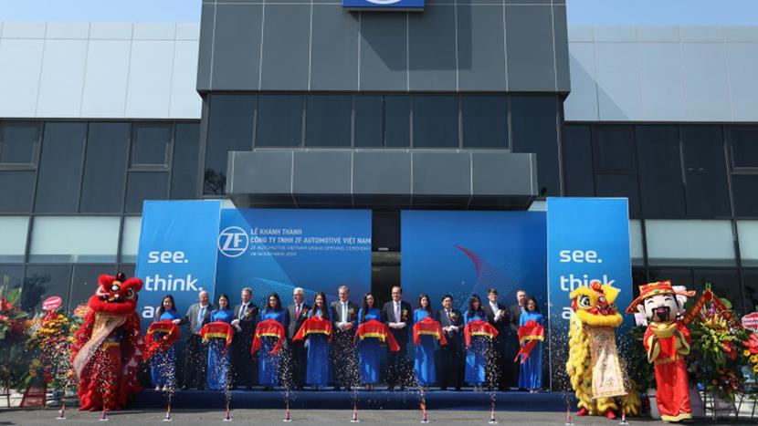 ZF, Hai Phong, Michael Hankel, Hai Phong plant, Dr. Peter Holdmann, James DeLuca, Vinfast Automobile Manufacturing Complex, Chassis module sets