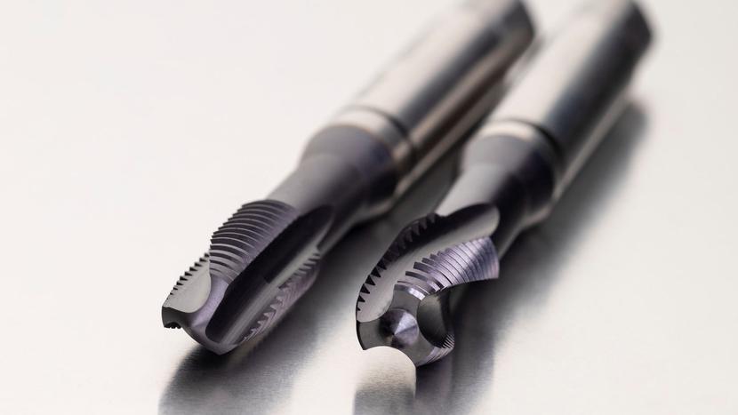 Dormer Pramet, Shark Line taps, Johan Bodin, E334 spiral point tap, E335 spiral flute tap, Black Shark taps