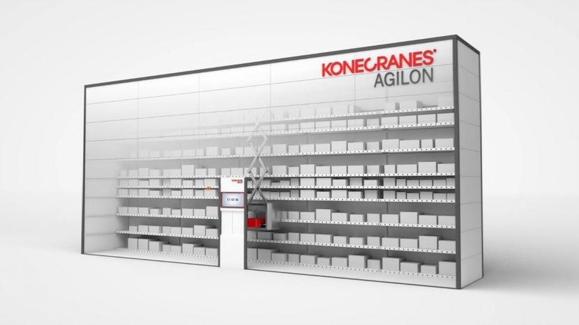 Konecranes, Lift robot, Agilon, Automated materials management system, Konecranes Agilon, Finland, Germany